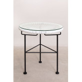 Conjunto de 2 cadeiras de balanço e mesa de Acapulco, imagem miniatura 4