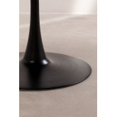 Mesa de jantar redonda em MDF e Metal Tuhl Style, imagem miniatura 5