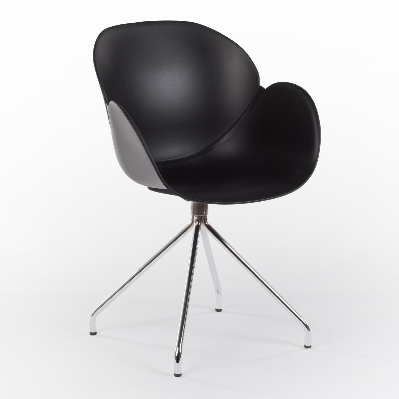 Cadeira de Escritório com Rodas Metalizada Yäh SKLUM