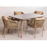 Conjunto de 4 cadeiras e mesa Arhiza Supreme Arhiza, imagem miniatura 2