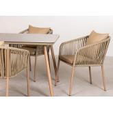 Conjunto de 4 cadeiras e mesa Arhiza Supreme Arhiza, imagem miniatura 3