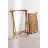 Mesa lateral com bandeja em Bamboo Tonga, imagem miniatura 4