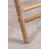 Mesa lateral com bandeja em Bamboo Tonga, imagem miniatura 6