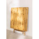 Mesa dobrável de bambu allen, imagem miniatura 4