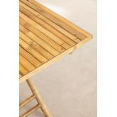 Mesa dobrável de bambu allen, imagem miniatura 5