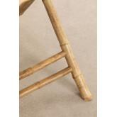 Mesa dobrável de bambu allen, imagem miniatura 6