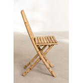 Cadeira de jardim dobrável em bambu da Marilin, imagem miniatura 3