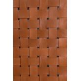Cabeceira de couro e madeira Zaid para cama de 150 cm, imagem miniatura 6