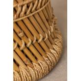Banquinho baixo de bambu Thëss, imagem miniatura 4
