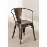 Cadeira com Braços LIX Escovada, imagem miniatura 2