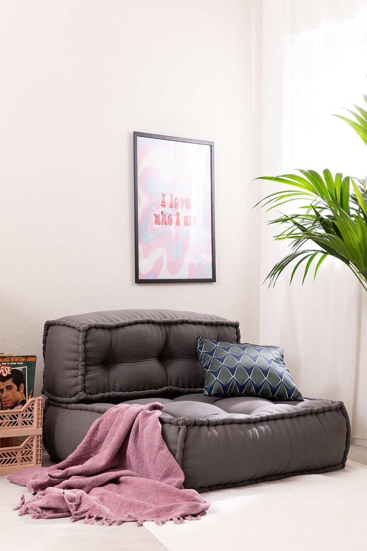 Sofá Modular em Algodão Yebel, imagem de galeria 1