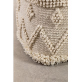 pouf de lã quadrada drutt, imagem miniatura 3