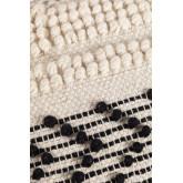 Quadratische Wolle Meli Pouf, imagem miniatura 5