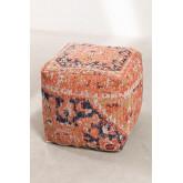 Pufê de algodão quadrado Bradd , imagem miniatura 3