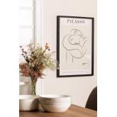 Estampa decorativa (50x70 cm) Mulher, imagem miniatura 1