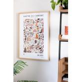 Estampa decorativa (50x70 cm) Musa, imagem miniatura 4