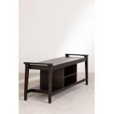 Gabinete de TV de madeira teca Milen, imagem miniatura 3