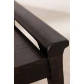 Gabinete de TV de madeira teca Milen, imagem miniatura 6