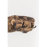 Cabide de parede de madeira reciclada trunc, imagem miniatura 979318