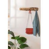 Cabide de parede de madeira reciclada trunc, imagem miniatura 979342