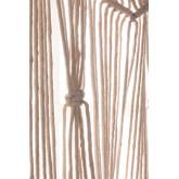 Cortina macramé (215x110 cm) Zulema, imagem miniatura 5