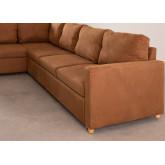 Sofá-cama de canto de tecido Anders com 4 lugares, imagem miniatura 6