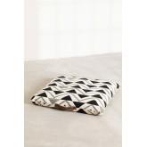 Almofada de piso de algodão quadrada Barry, imagem miniatura 3