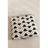 Almofada de piso de algodão quadrada Barry, imagem miniatura 2
