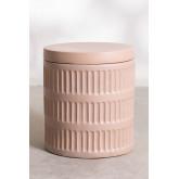 Blaci mesa lateral redonda de cerâmica, imagem miniatura 3