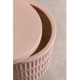 Blaci mesa lateral redonda de cerâmica, imagem miniatura 6
