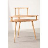 Arlan Wood Corner Desk, imagem miniatura 3