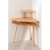 Arlan Wood Corner Desk, imagem miniatura 2