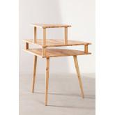 Arlan Wood Corner Desk, imagem miniatura 5
