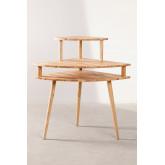 Arlan Wood Corner Desk, imagem miniatura 4