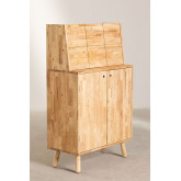 Arlan Wood Bar Cabinet, imagem miniatura 3