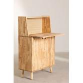 Arlan Wood Bar Cabinet, imagem miniatura 4
