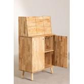 Arlan Wood Bar Cabinet, imagem miniatura 5