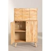 Arlan Wood Bar Cabinet, imagem miniatura 6