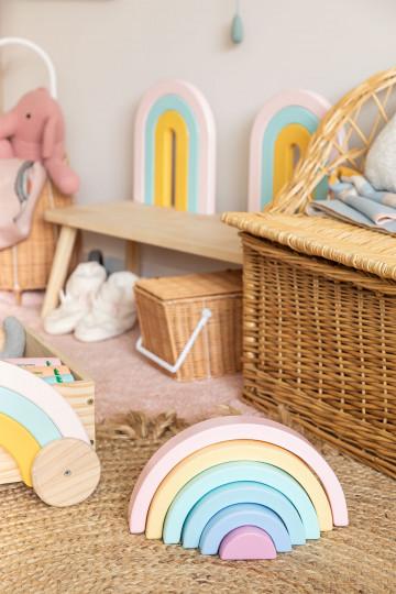Rainbow Bowy Kids de madeira