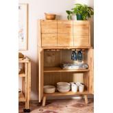 Arlan Wood Bar Cabinet, imagem miniatura 2