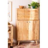 Arlan Wood Bar Cabinet, imagem miniatura 1