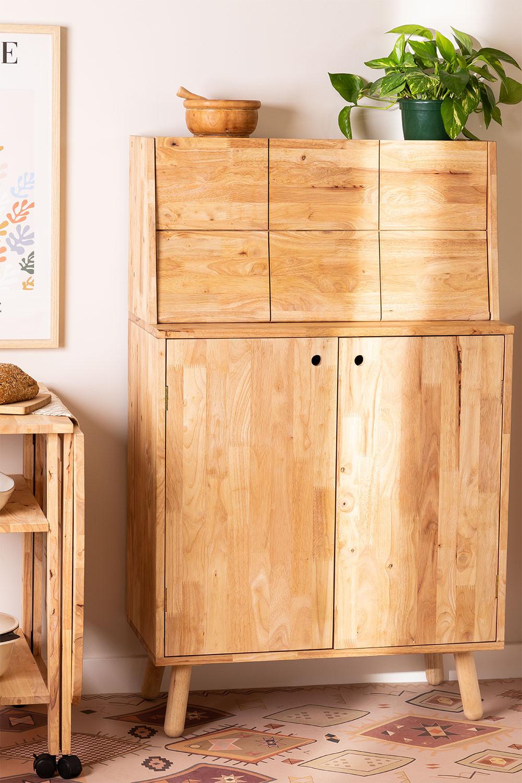 Arlan Wood Bar Cabinet, imagem de galeria 1