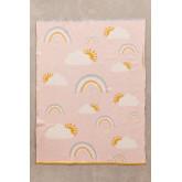 Cobertor infantil de algodão ellie, imagem miniatura 2
