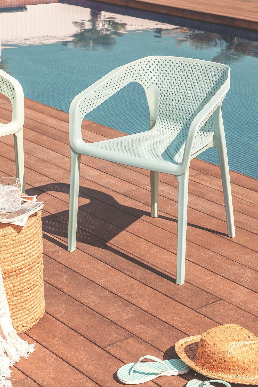 Cadeira ao ar livre com braços Frida, imagem de galeria 1