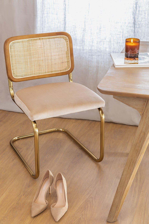 Cadeira de jantar vintage Tento Gold, imagem de galeria 1