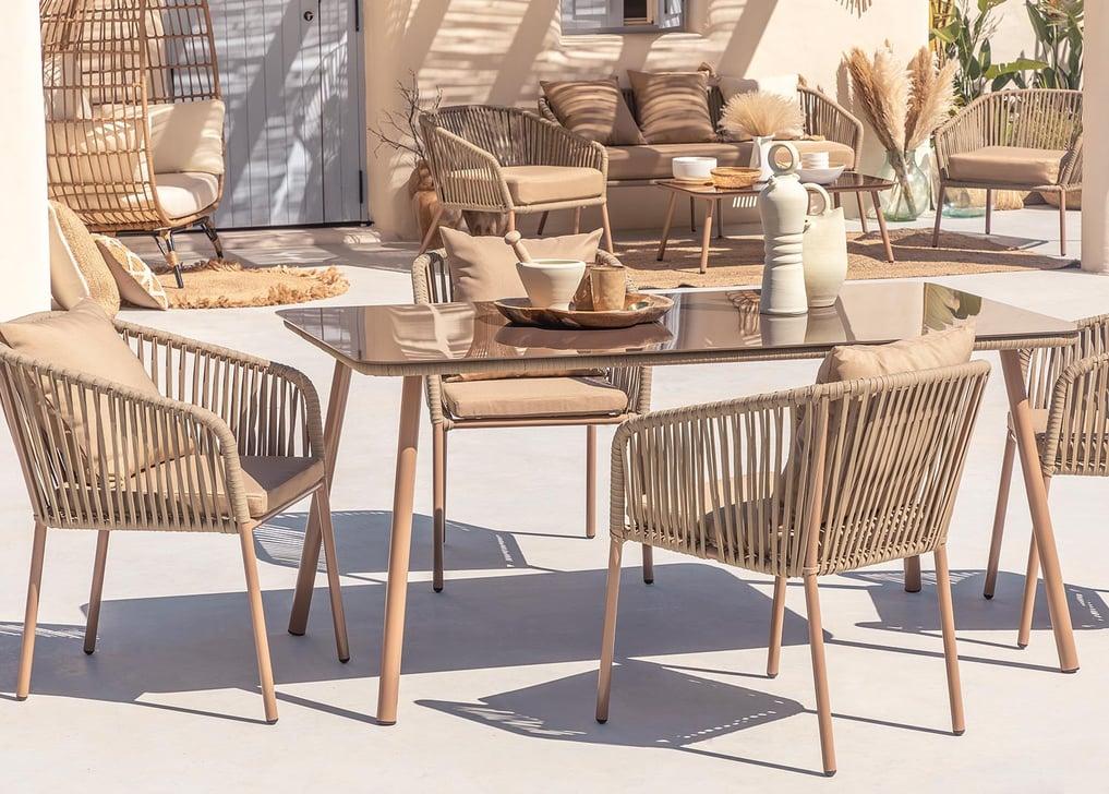 Conjunto de 4 cadeiras e mesa Arhiza Supreme Arhiza, imagem de galeria 1