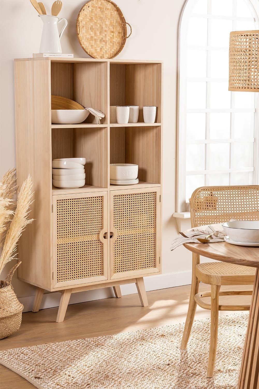Armário de madeira estilo ralik, imagem de galeria 1