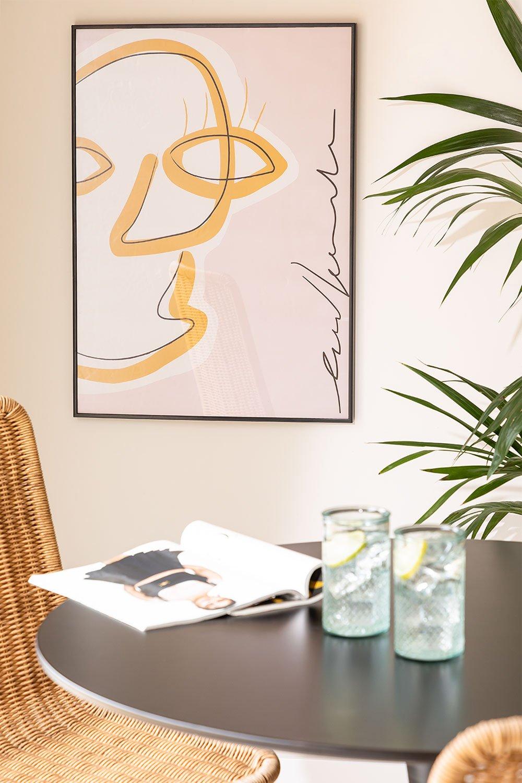 Impressão decorativa (50x70 cm) Retrato, imagem de galeria 1