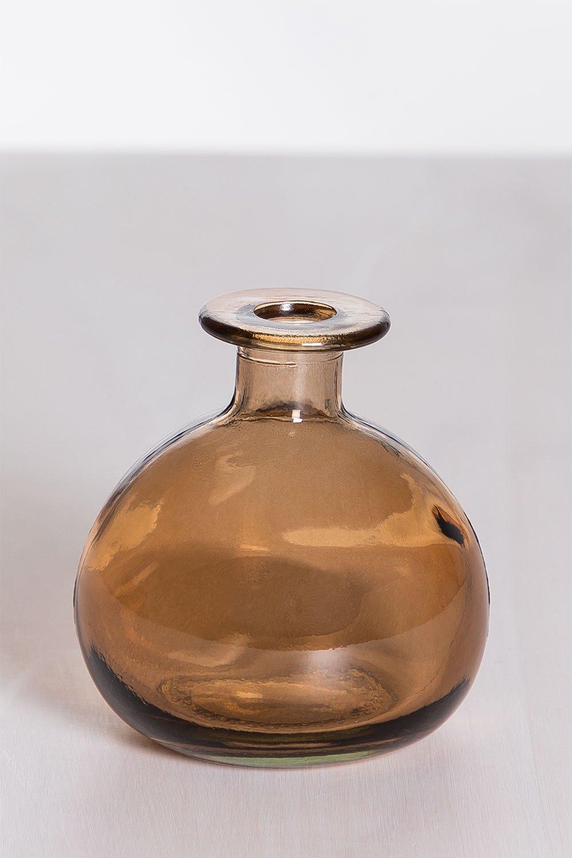 Vaso de vidro reciclado endon, imagem de galeria 1
