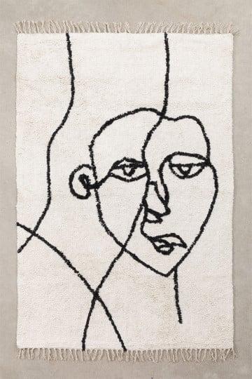 Tapete de algodão (198x124 cm) Fäsy